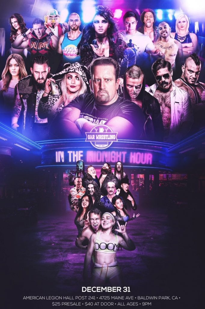 Bar Wrestling 27: In The Midnight Hour