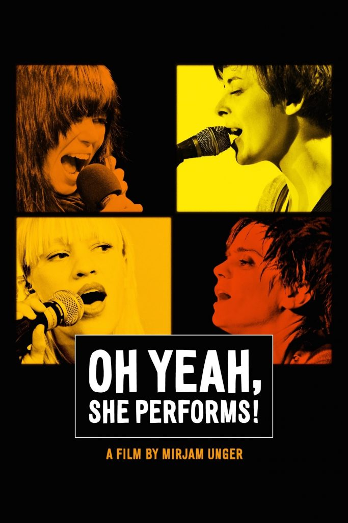 Oh Yeah, She Performs!